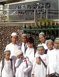 mampir ke Masjid Alun-alun Kediri