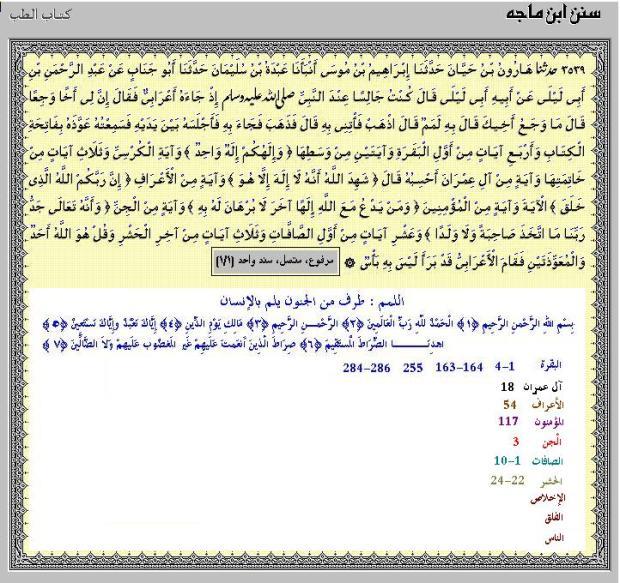 dasar hadits tentang ayat anti kesurupan HR.IBNU MAAJAH NO.3539
