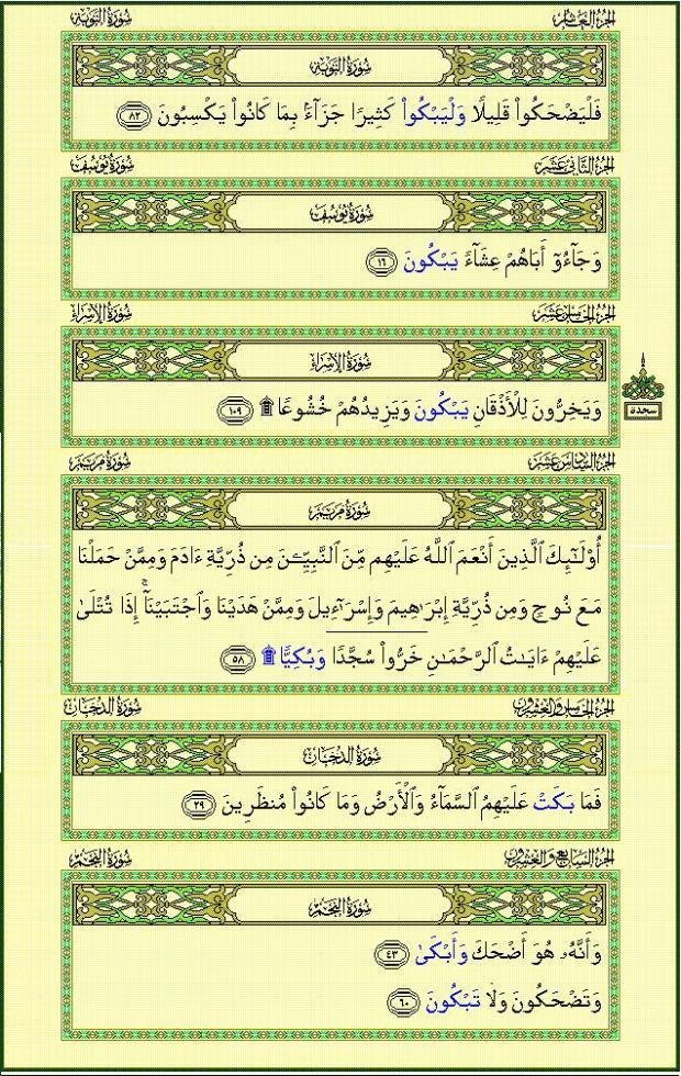 MENANGISLAH DALAM ALQUR'AN ADA 7