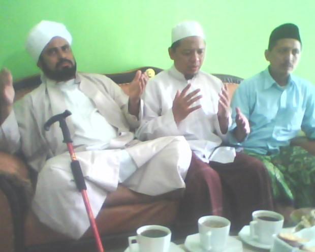 alhabib abdurrohman bin ali masyhur bin muhammad bin salim bin hafidh di Ma'had Washooya Ngooro Jombang