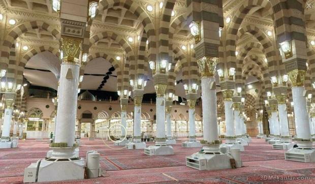 dalam masjid nabawy
